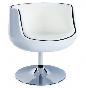 Fauteuil HARLOW wit