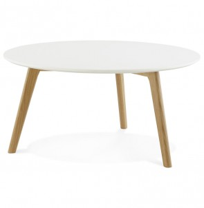Design lage Tafel KINGSTON wit